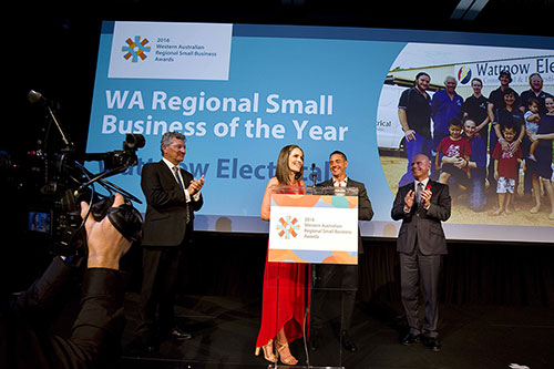 Small Business Development Awards Acceptance Speech